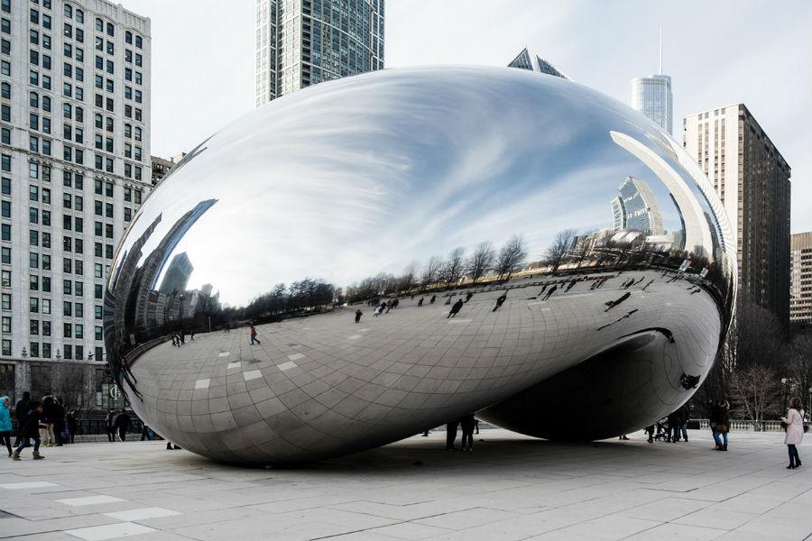 Облачные врата - Cloud Gate - The Bean_ Chicago.jpg