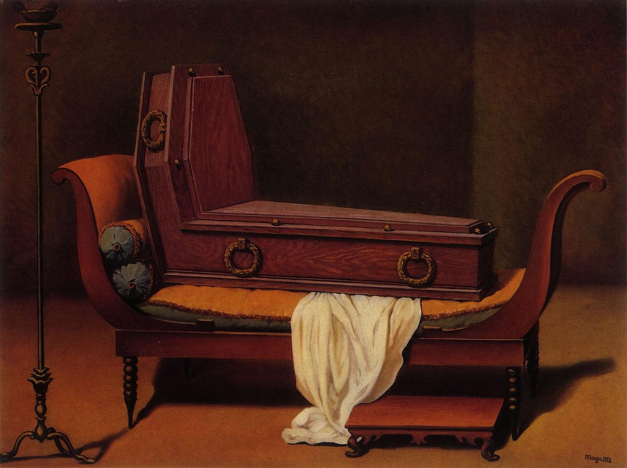 Рене Магритт - Перспектива мадам Рекамье.jpg