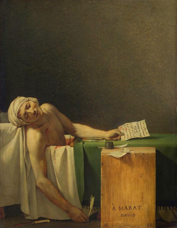Жак Луи Давид - Смерть Марата.jpg