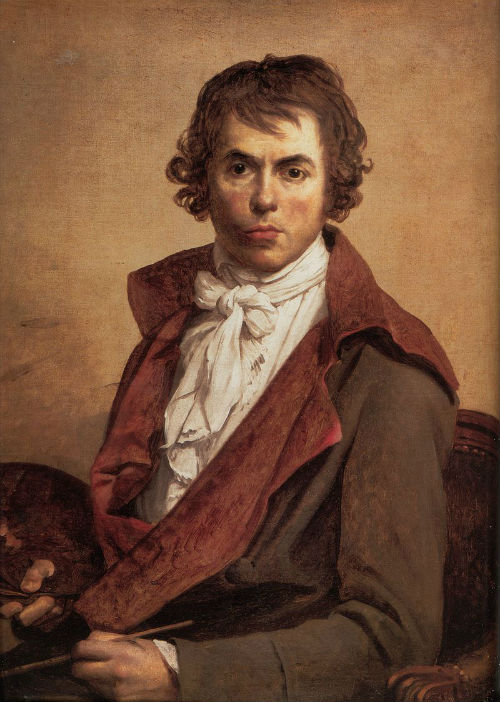 Жак-Луи Давид - Автопортрет - 1794.jpg