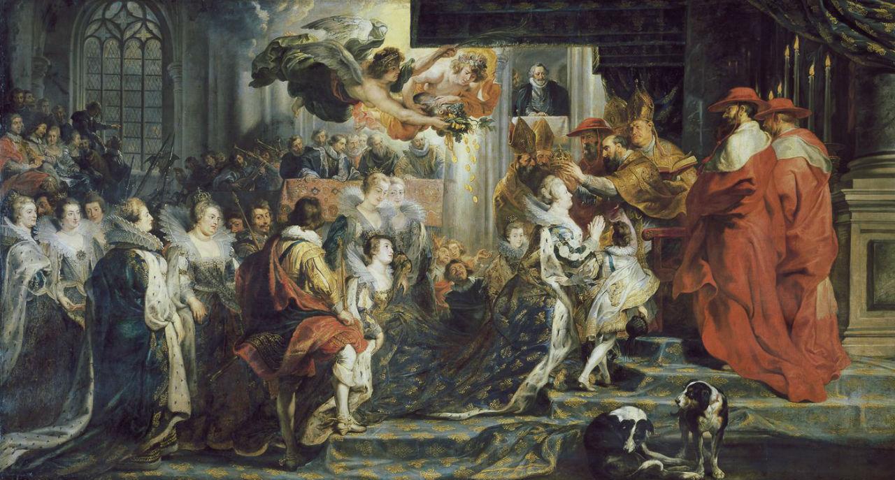 Питер Пауль Рубенс - Коронация Марии Медичи.jpg