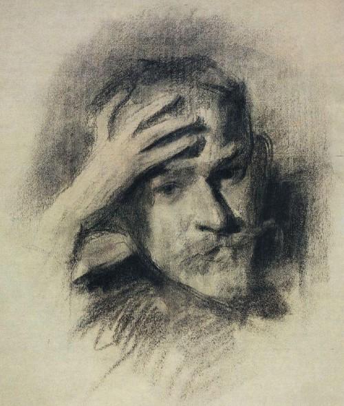 Виктор Борисов-Мусатов - Автопортрет - (1904-1905).jpg
