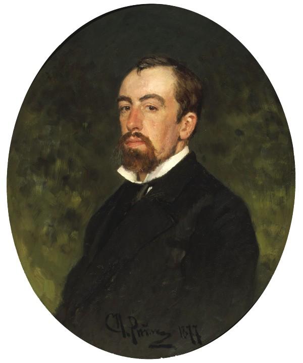 Илья Репин - Портрет Поленова - 1877.jpg