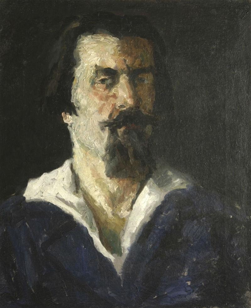 10-Казимир Северинович Малевич - Автопортрет - 1934.jpg