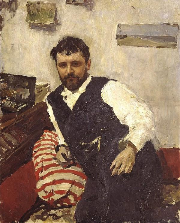 Валентин Серов - Портрет Константина Коровина - 1891.jpg
