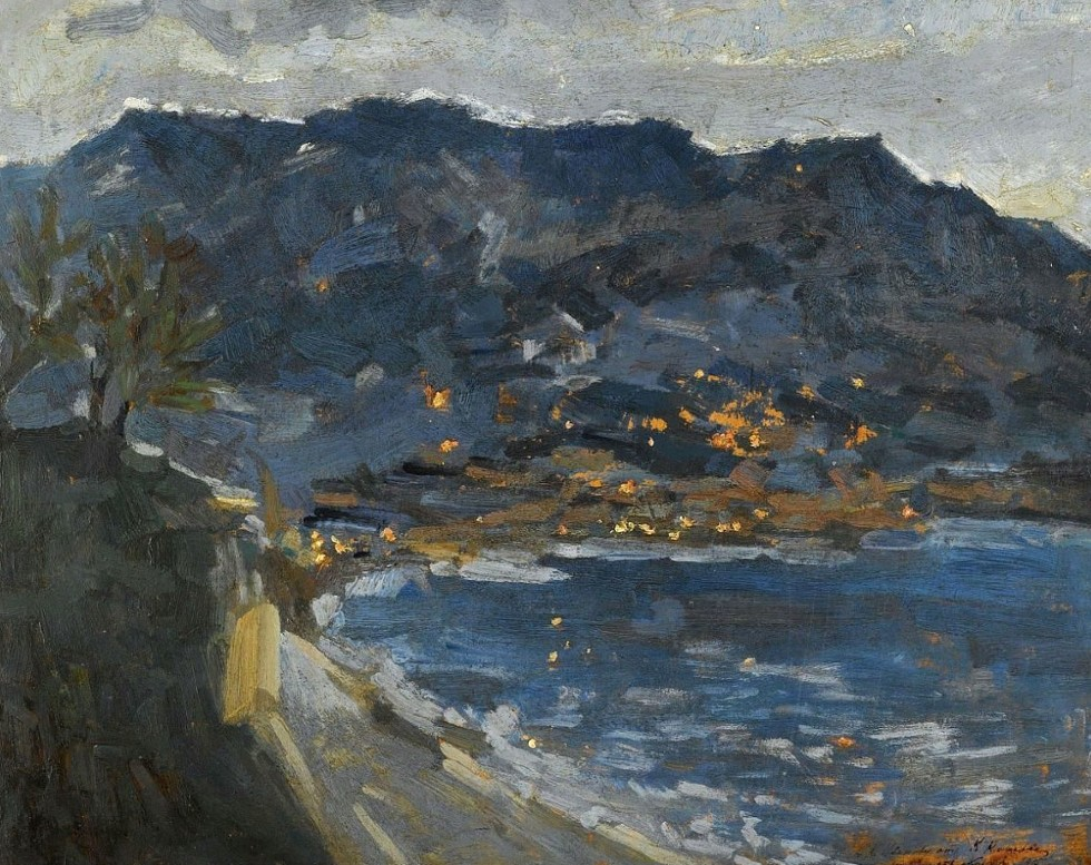 13-Ранний вечер. Крым - 1915.jpg