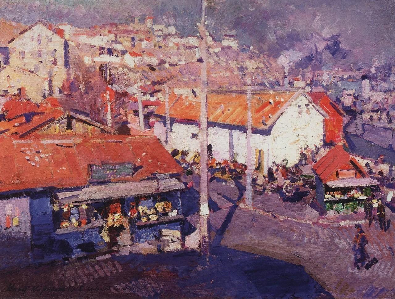 15-Севастопольский базар - 1915.jpg
