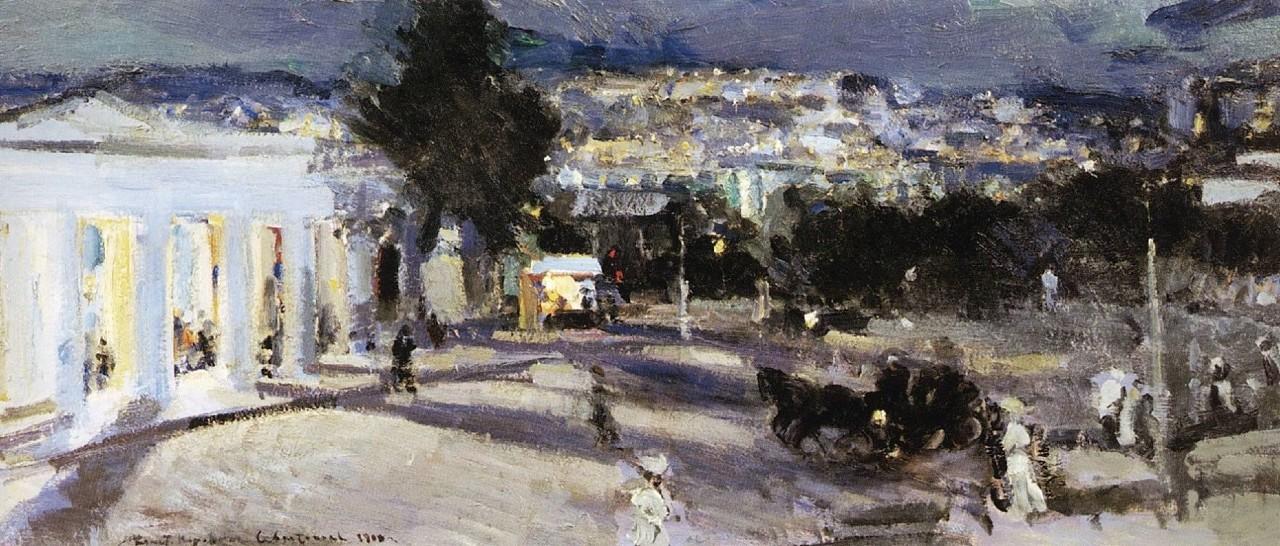 16-Севастополь вечером - 1915.jpg