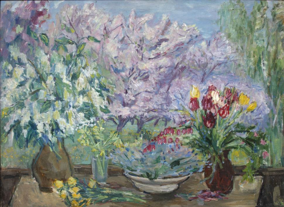 12-Надежда Андреевна Удальцова - Весна в деревне - 1947.jpg