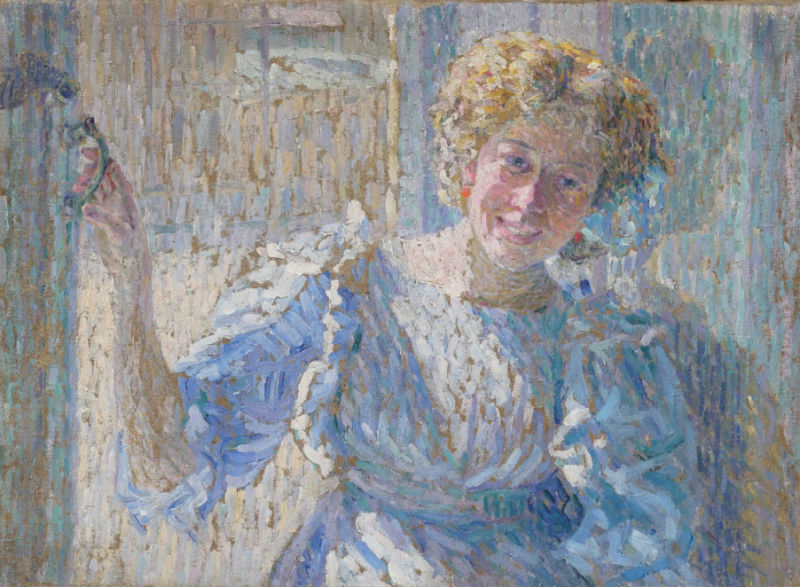 13-Александр Константинович Богомазов - Портрет Ванды - 1908.jpg