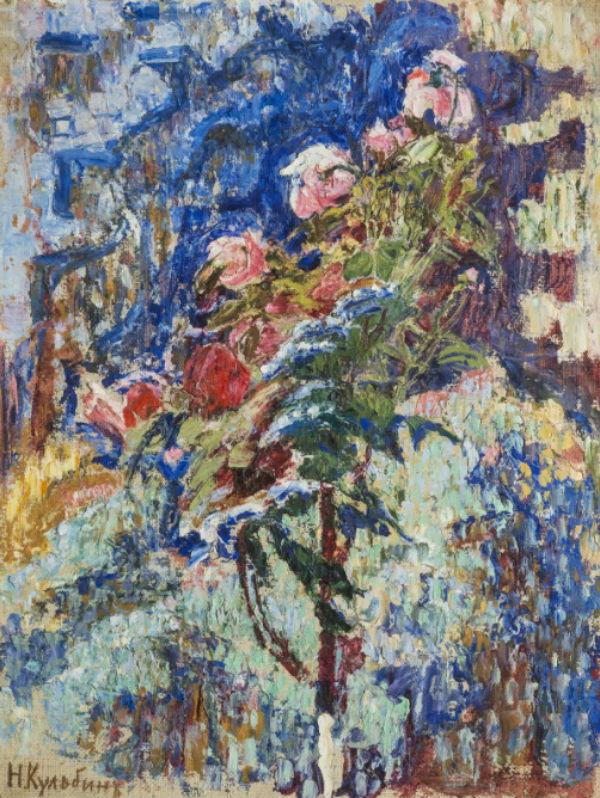 14-Николай Иванович Кульбин - Цветы - 1910.jpg