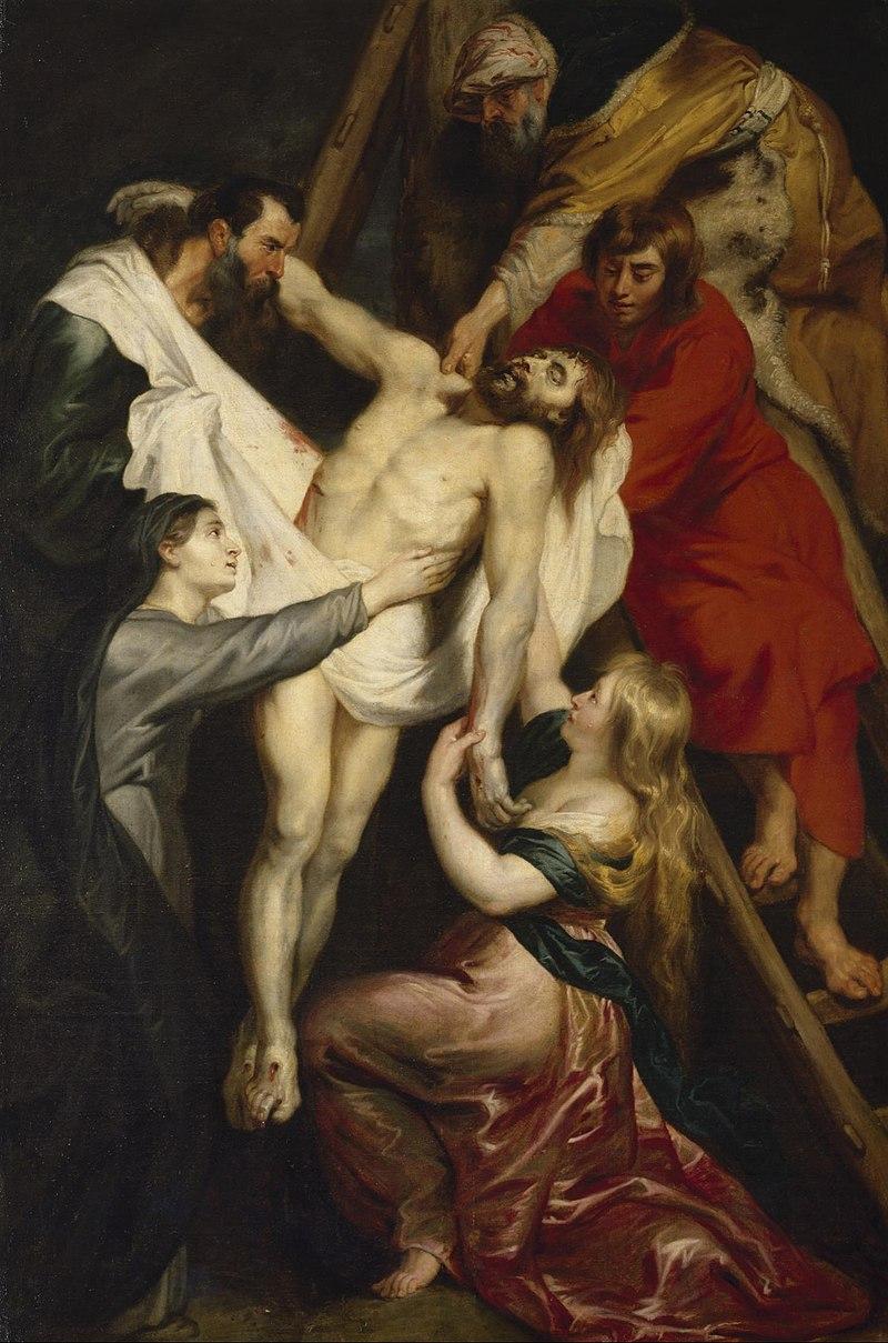 Рубенс - Снятие с креста.jpg