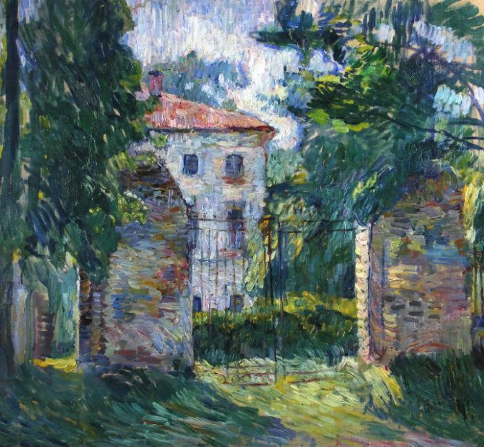 17-Пётр Петрович Кончаловский - Дом в Белкине - 1907.jpg