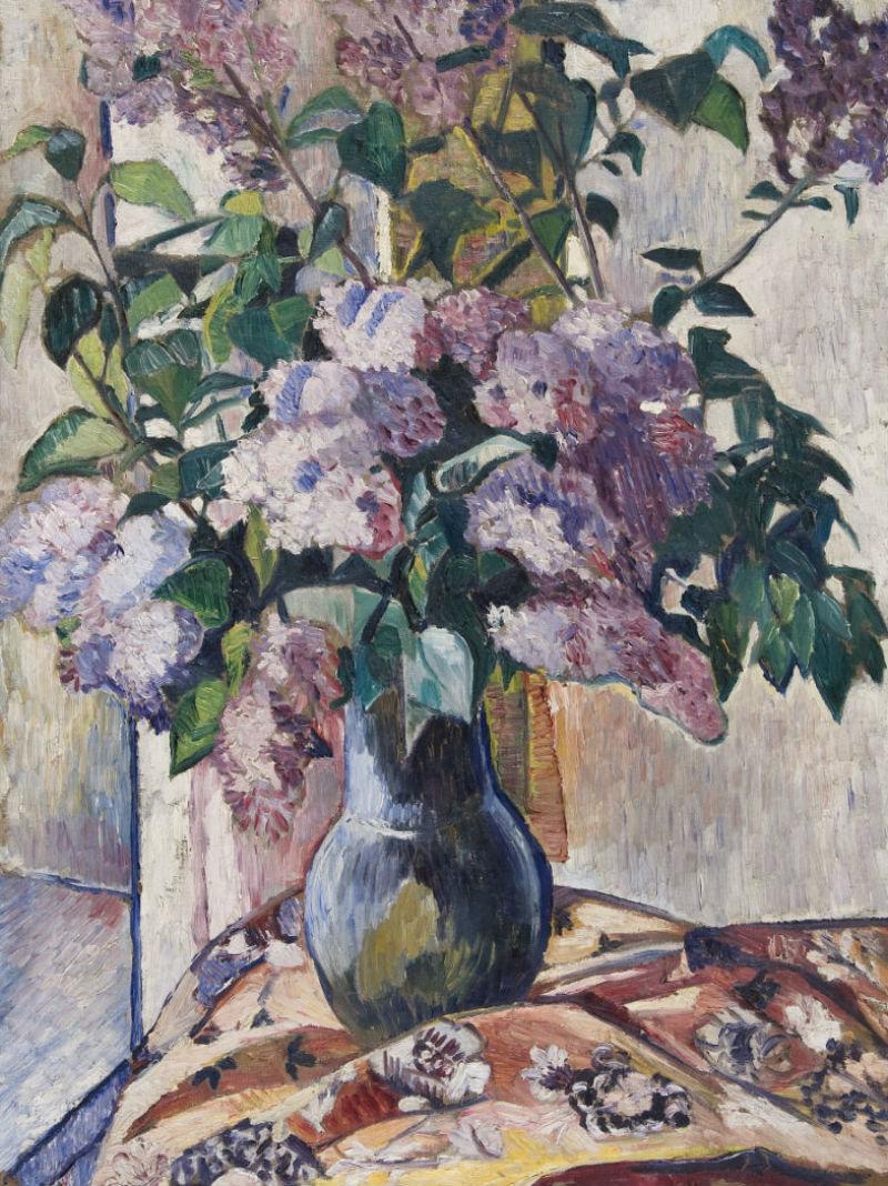 5-Наталья Сергеевна Гончарова - Сирень - 1906.jpg