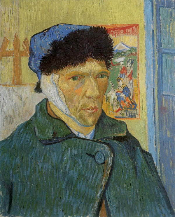 4-Винсент ван Гог -  Автопортрет с перевязанным ухом - 1889.jpg
