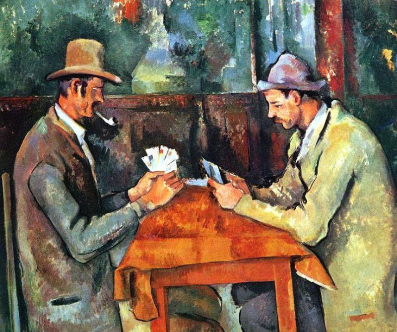 5-Поль Сезанн - Игроки в крты - 1895.jpg