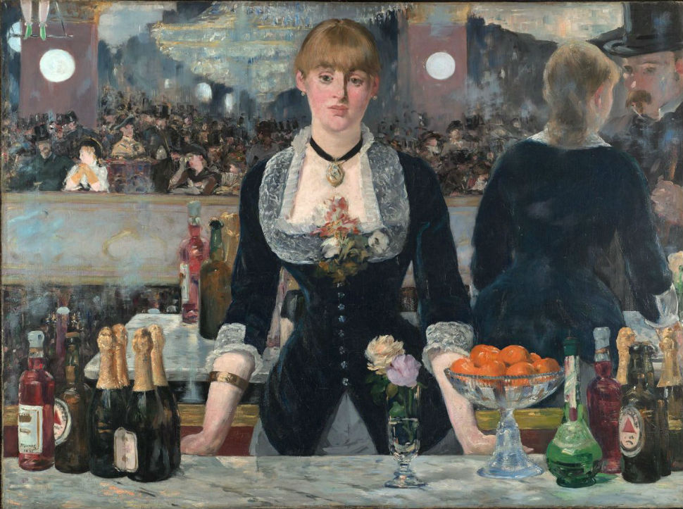 7-Эдуард Мане - Бар в Фоли-Бержер - 1882.jpg