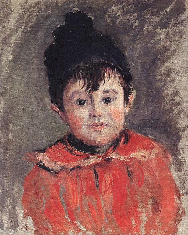 2-Клод Моне - Портрет Мишеля в шапочке с помпоном - 1880 - Музей д'Орсе - Париж.jpg