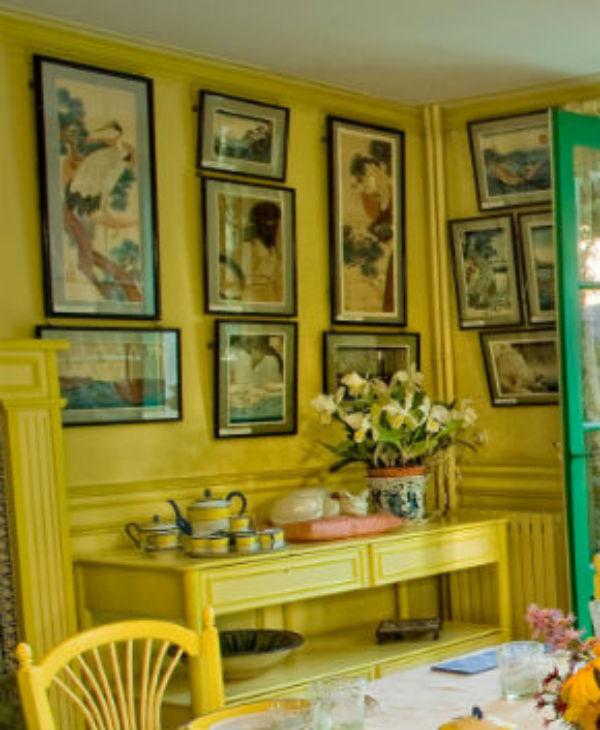 4-1-Жёлтая столовая Клода Моне - Статуэтка Кот.jpg