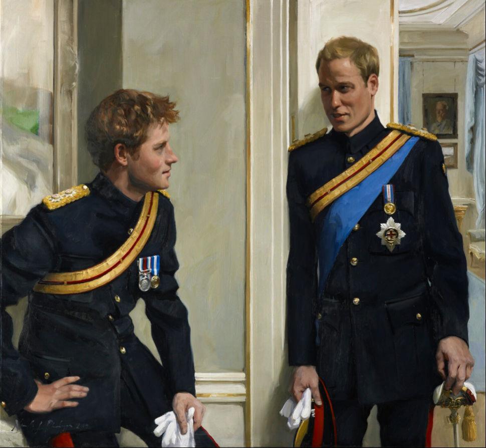4-Никки Филиппс - Принц Уильям герцог Кембриджский и принц Гарри - 2009.jpg