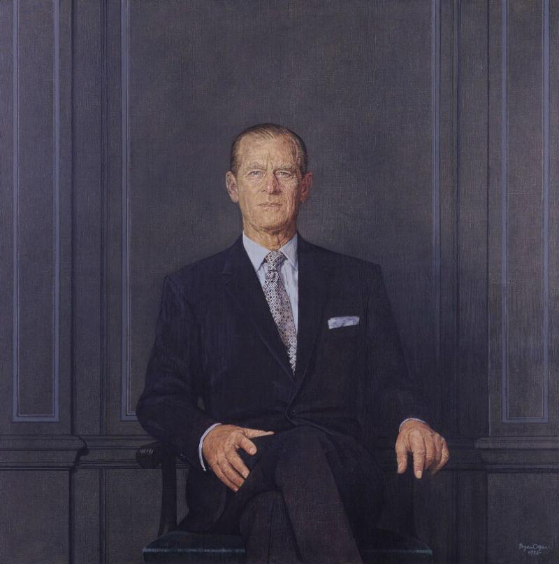6-Брайан Орган  - Принц Филипп - герцог Эдинбургский - 1983.jpg