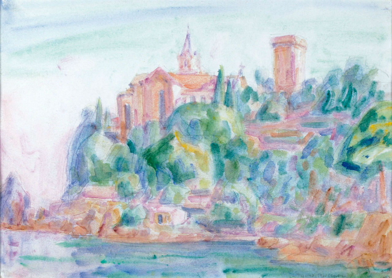 3-Живопись_Джон-Питер-Рассел_Castello-Brown-Portofino-1920.jpg