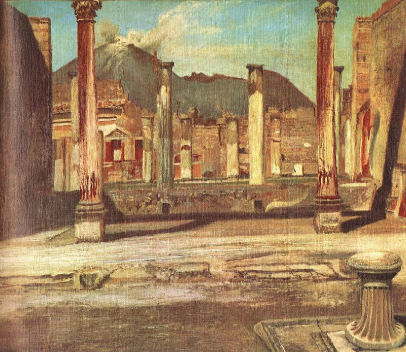 Pompeji Have (House of the Chirurgus with the Vesuv).jpg