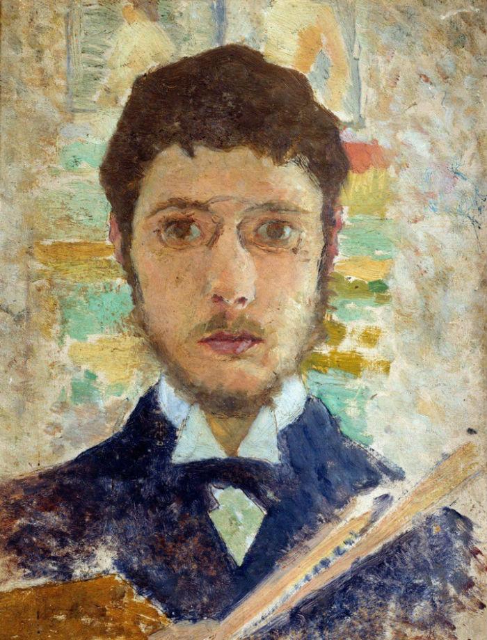 1-Пьер Боннар - Автопортрет - 1889.jpg