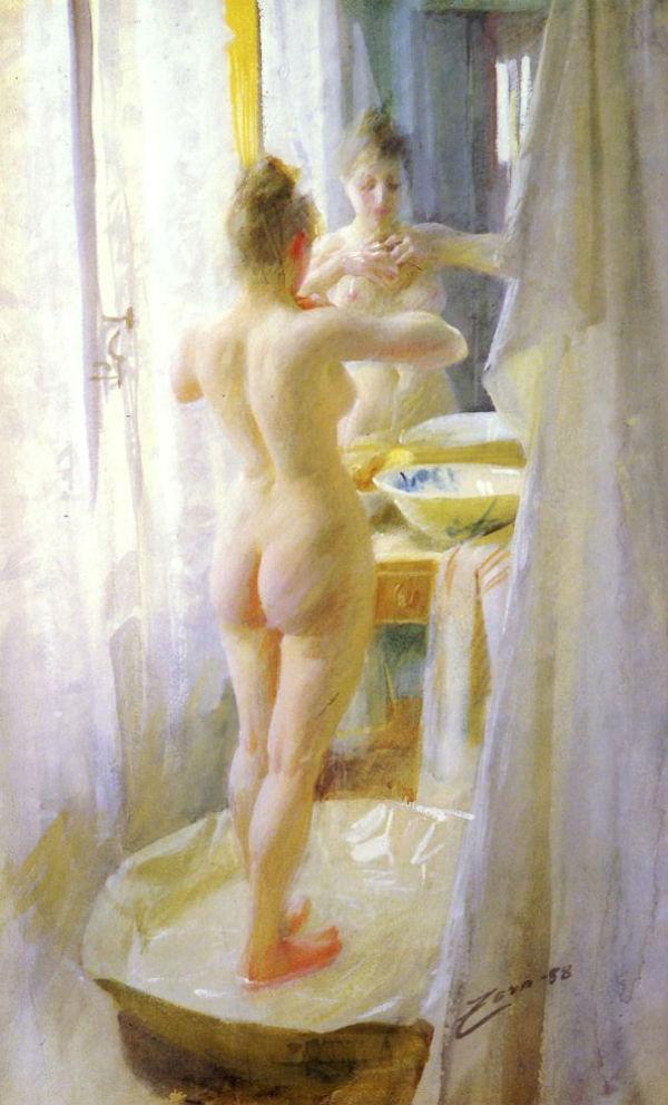 Андерс Цорн - Ванна - 1888.jpg