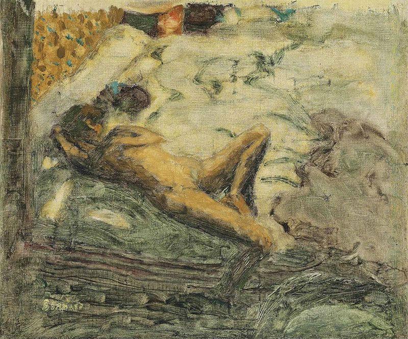 3-Эскиз к Ленивой девушке - 1899.jpg