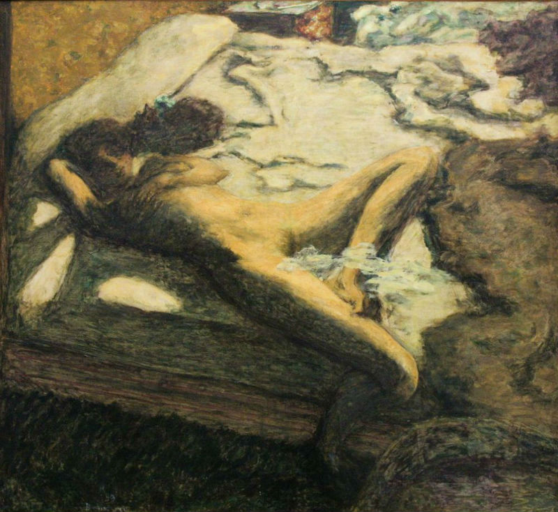 4-Женщина дремлющая на кровати - 1899.jpg