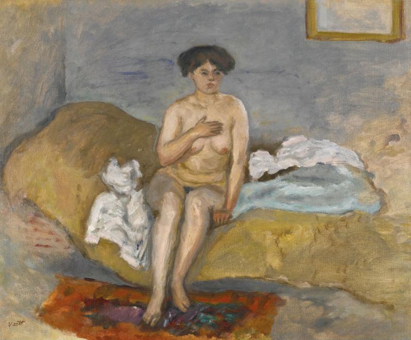 13-Обнаженная женщина на диване - 1905.jpg