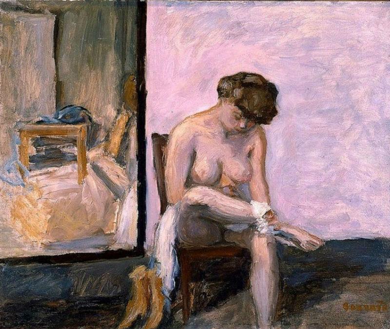 16-Женщина за туалетом - 1906.jpg