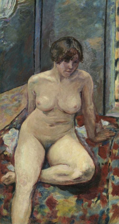 29-Сидящая обнаженная - 1909.jpg