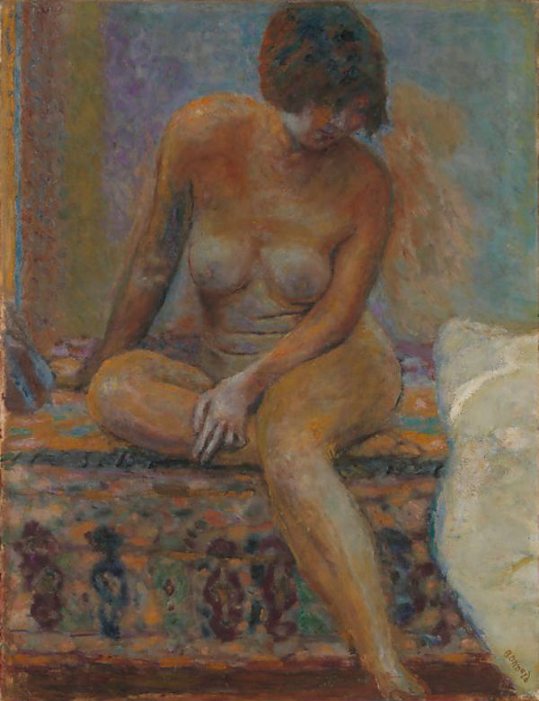 41-Сидящая обнаженная - 1919.jpg