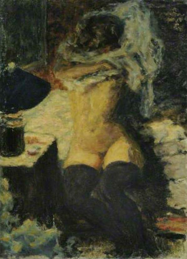 43-Обнаженная в чёрных чулках - 1920.jpg