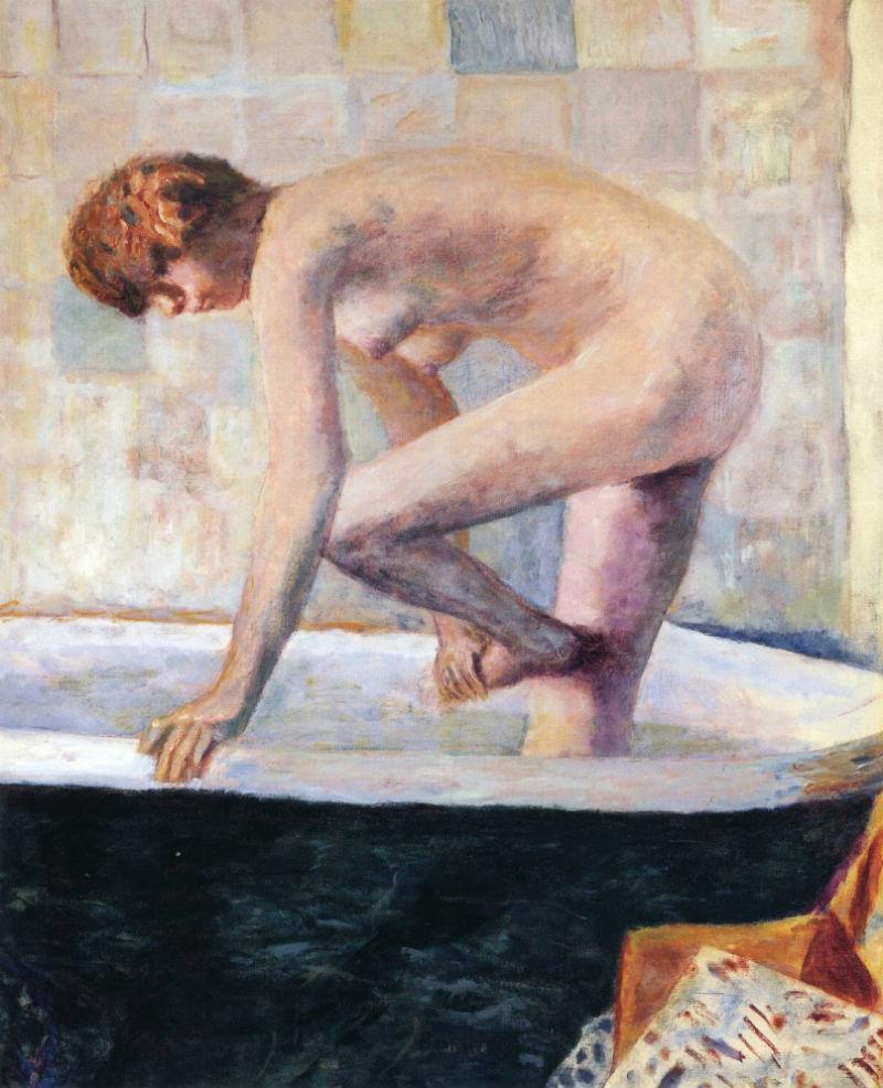 47-Обнаженная женщина в ванной - 1924.jpg