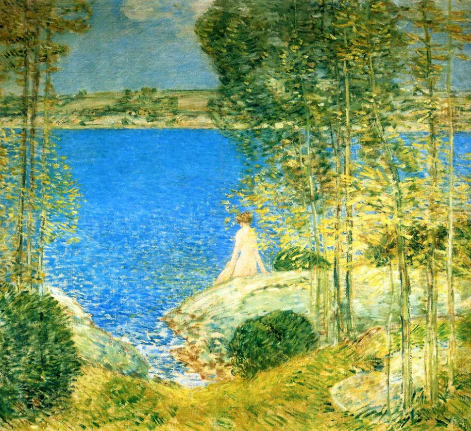 Чайльд Гассам - Купальщица - 1904.jpg