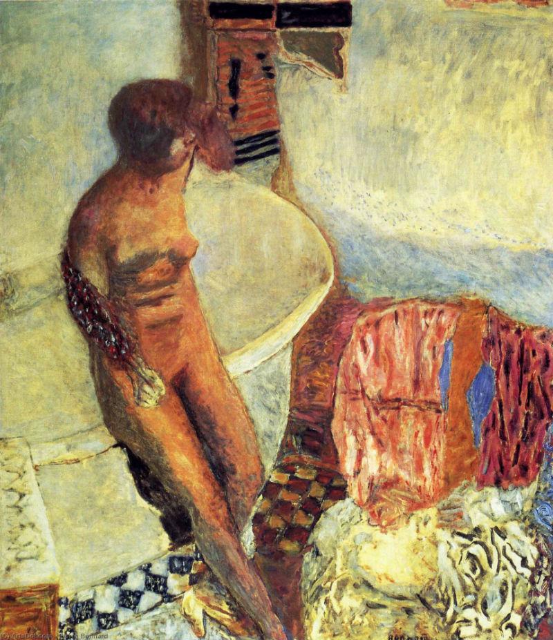 58-Обнаженная около ванны - 1931.jpg