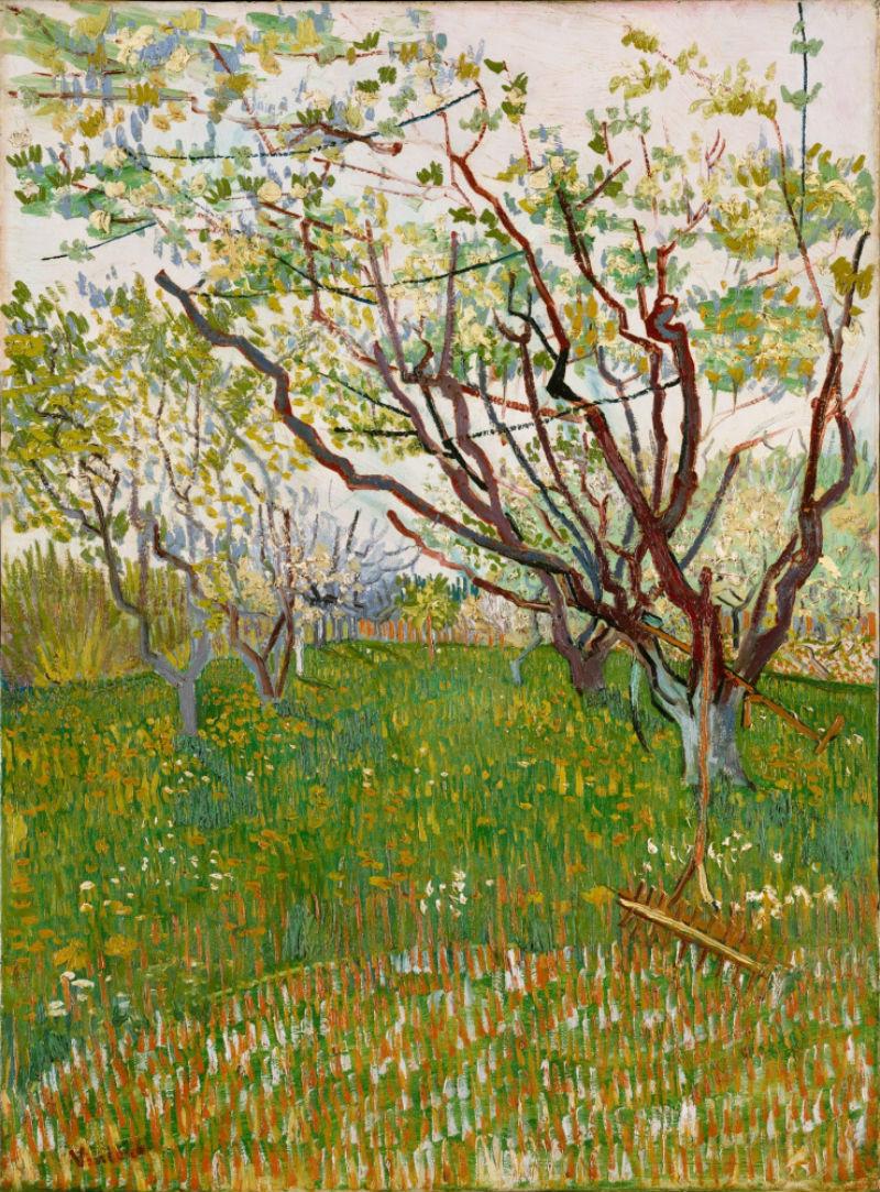 4-Фруктовый сад в цвету - 1888.jpg