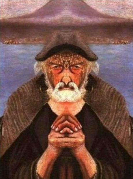 Тивадар Костка Чонтвари - Старый рыбак - 3.jpg