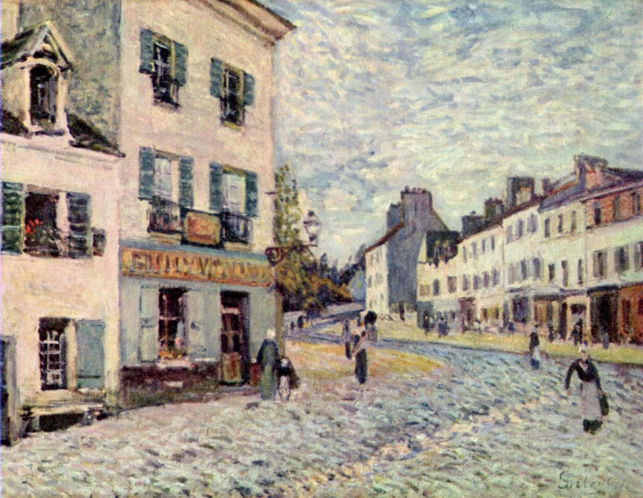 12-Улица в Марли - 1876.jpg
