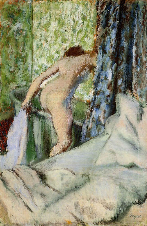 Эдгар Дега - Утренняя ванна - 1890.jpg