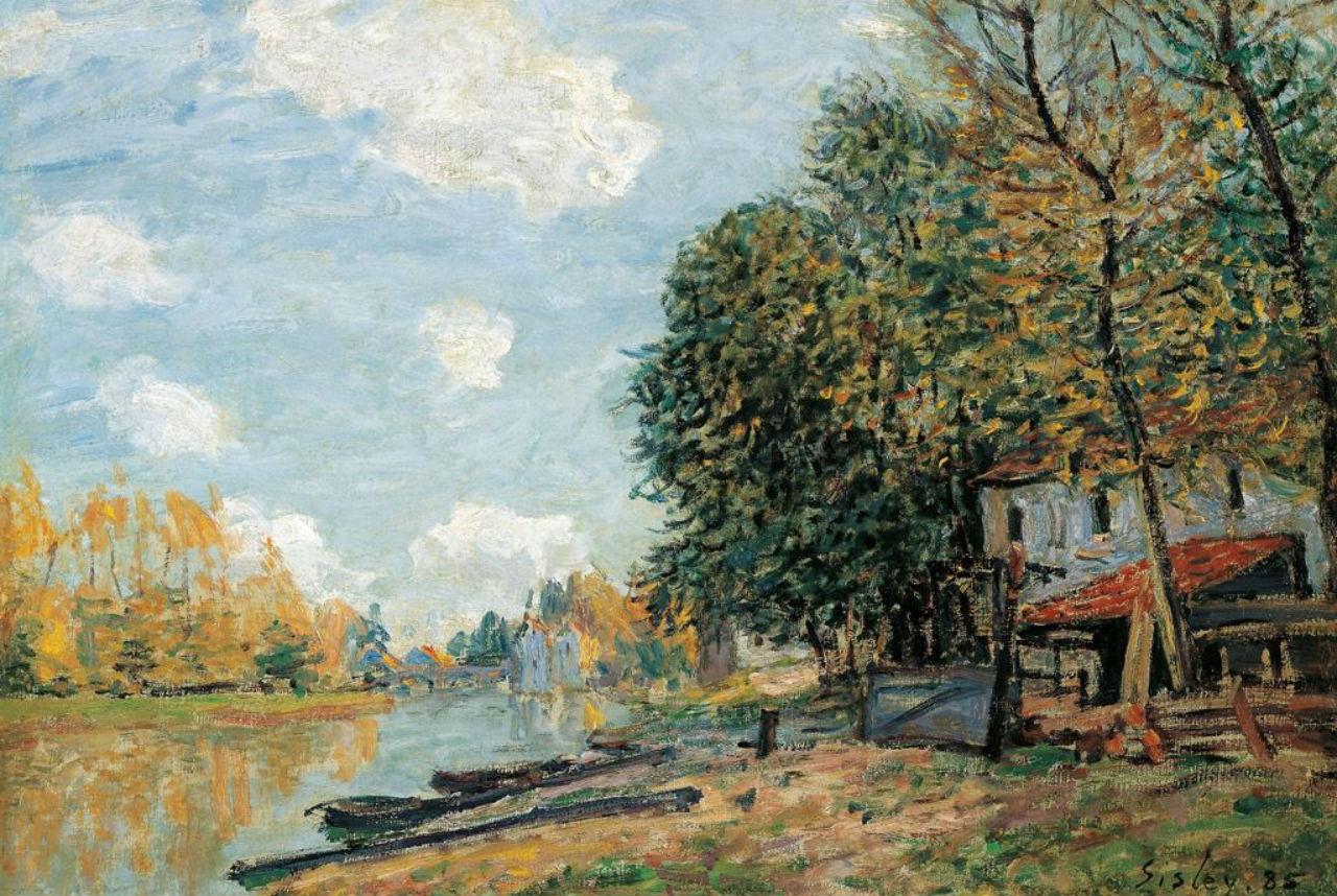 13-Берега реки Луан - 1877.jpg