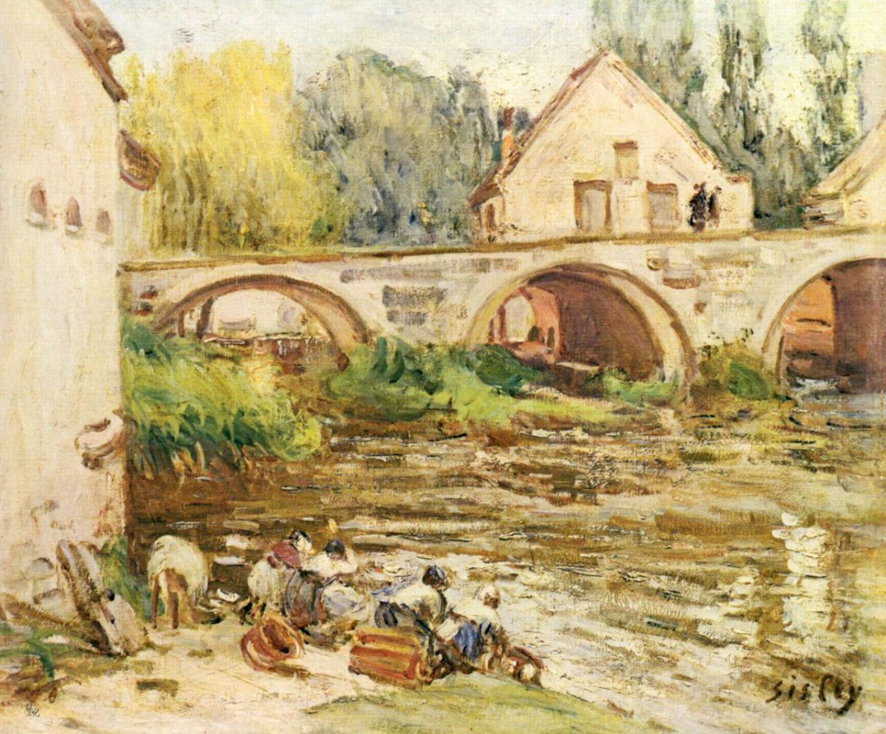 18-Прачки в Морэ-сюр-Луан - 1888.jpg