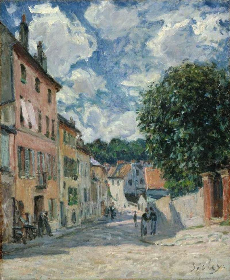 21-Улица в Морэ-сюр-Луан - 1892.jpg