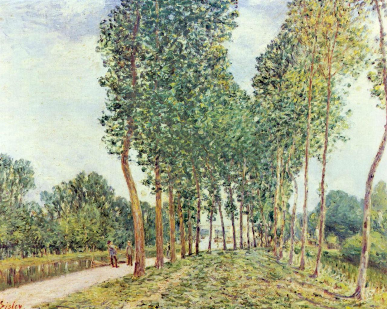 24-Берег в Морэ-сюр-Луан - 1892.jpg
