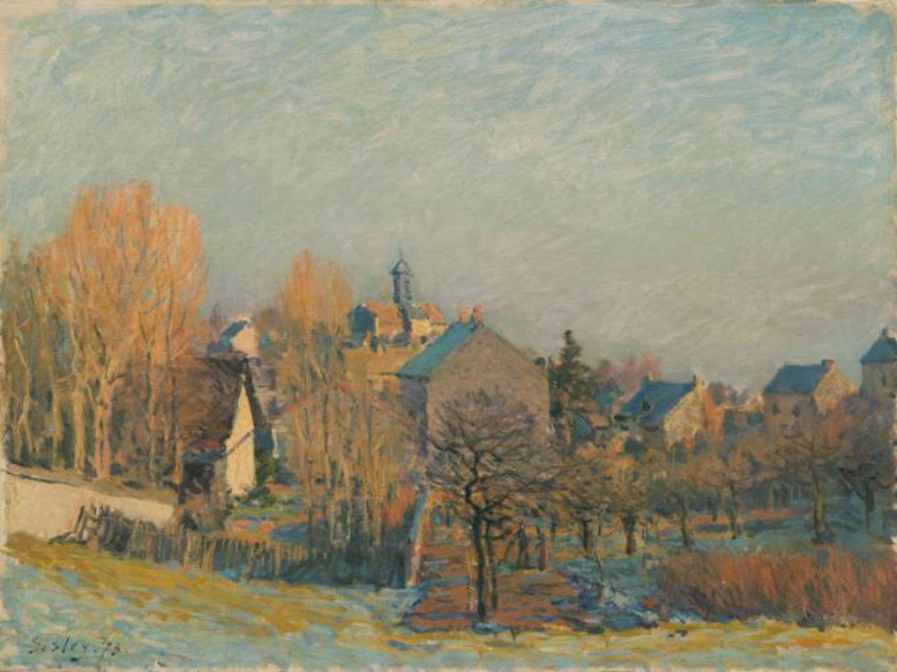 26-Мороз в Лувесьенне - 1873.jpg