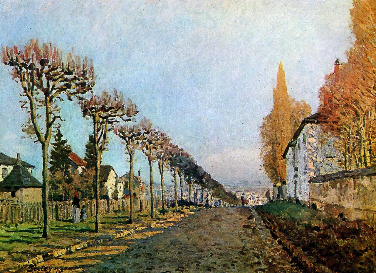 29-Дорога в Лувесьенне - 1873.jpg
