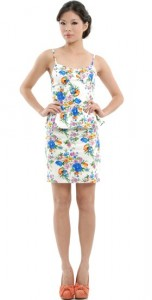 baroque-floral-peplum-dress